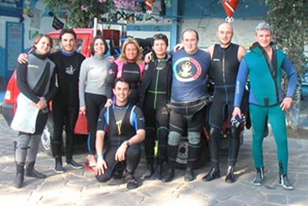 Nettuno Residence Diving - Staff